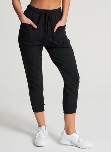 Pi π Cep Detaylı Pantolon Siyah